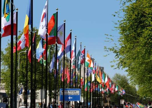 Flags UN Johan de Wittlaan (1)